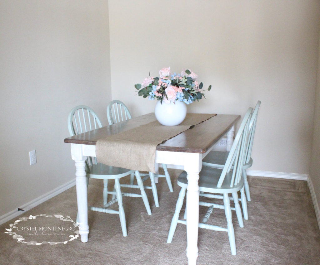 Do It Yourself Divas Diy Kitchen Table Makeover: Oak Chairs And Kitchen Table Makeover -- What Not To Do